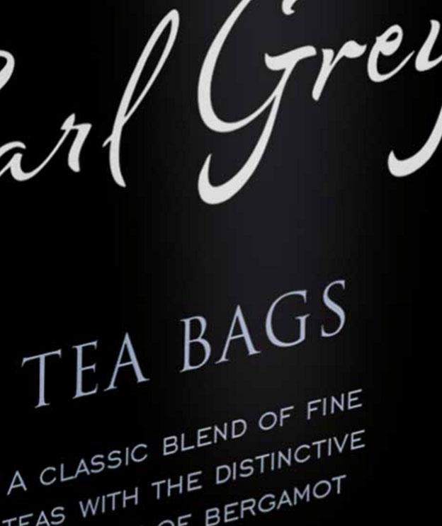 Diplomat Tea Bag Branding By Louise Russell Design
