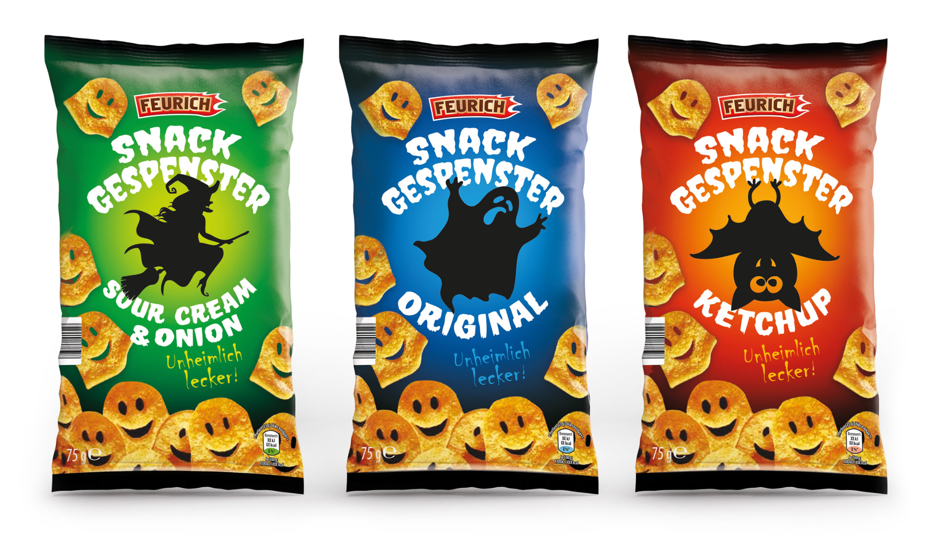 Feurich Crisp Packet Design By Louise Russell Design