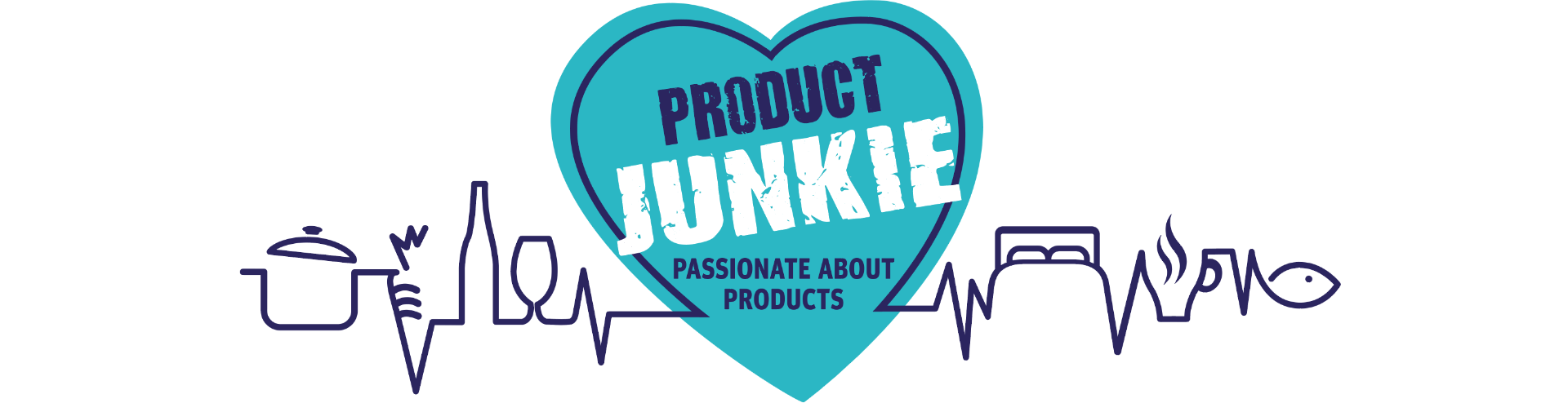 Product Junkie Logo Design By Louise Russell Design