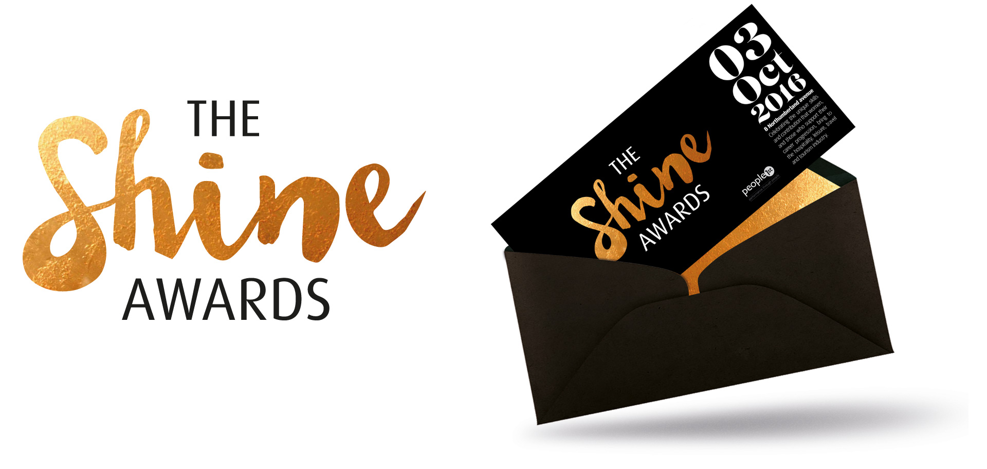 Shine Awards Logo And Ticket Design By Louise Russell Design
