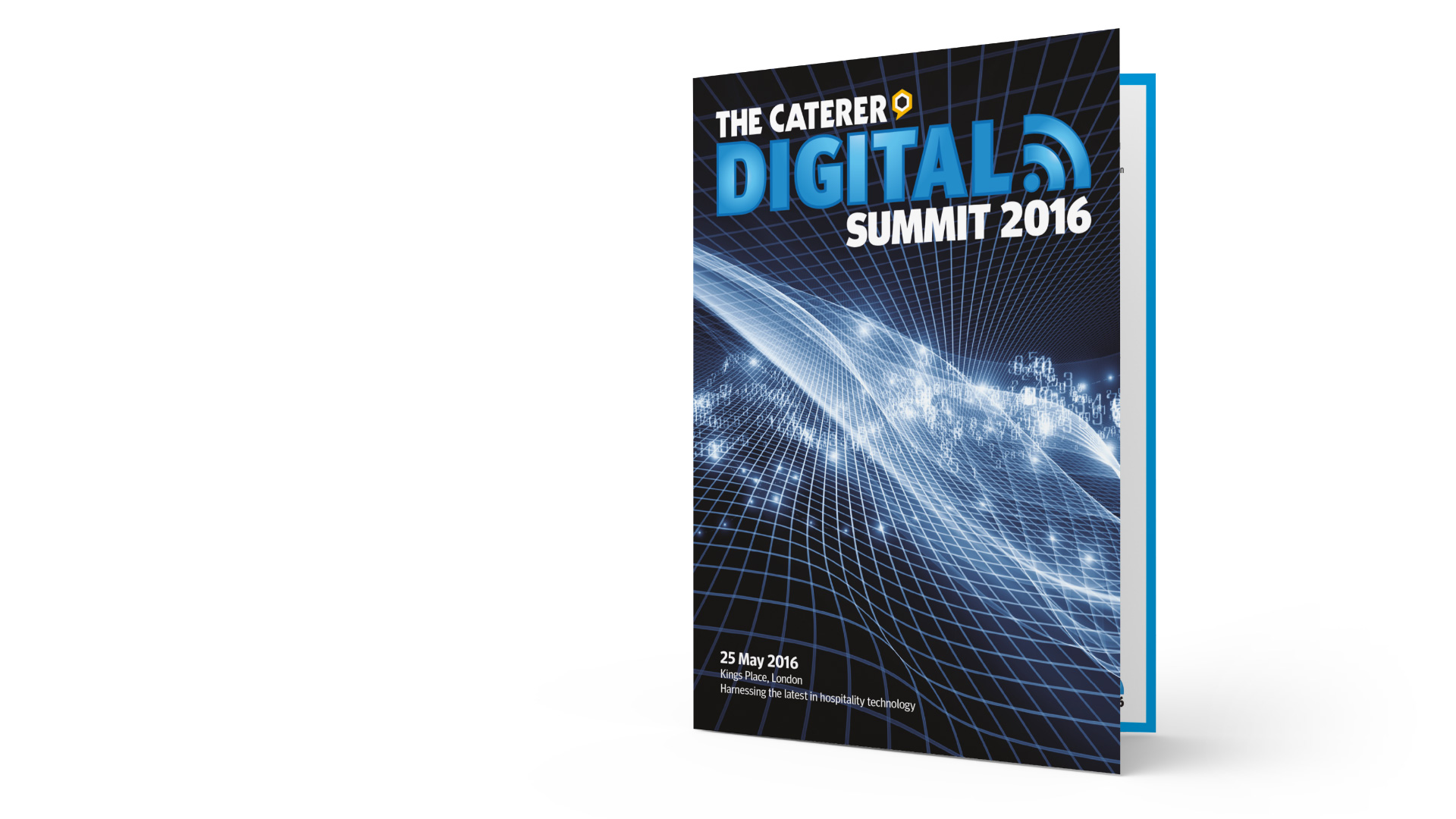 The Caterer Digital Summit Brochure Design By Louise Russell Design